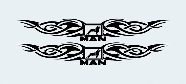 ADHESIVO VENTANA TRIBAL SUP.MAN
