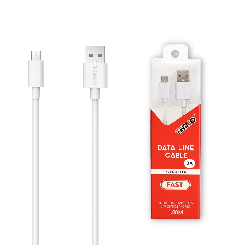 CABLE TEMCO MICRO USB 2.A 1 MTS