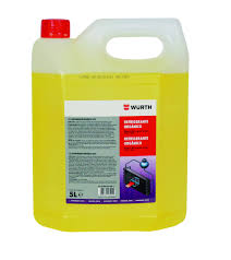 ANTICONGELANTE WURTH 30% 5L AMARILLO